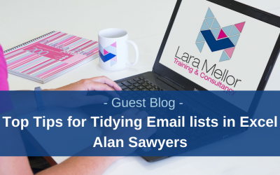 Guest Blog: Top 5 tips for tidying up customer email lists in Excel