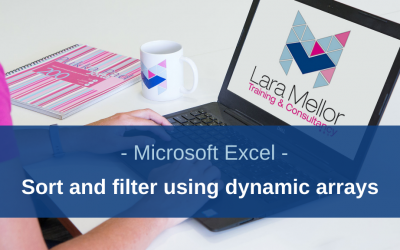 How to Sort and Filter using Dynamic Array Functions in Microsoft Excel
