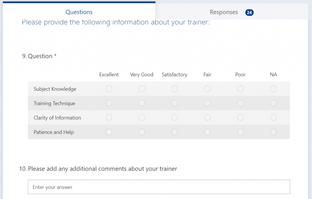 Image of Microsoft Forms