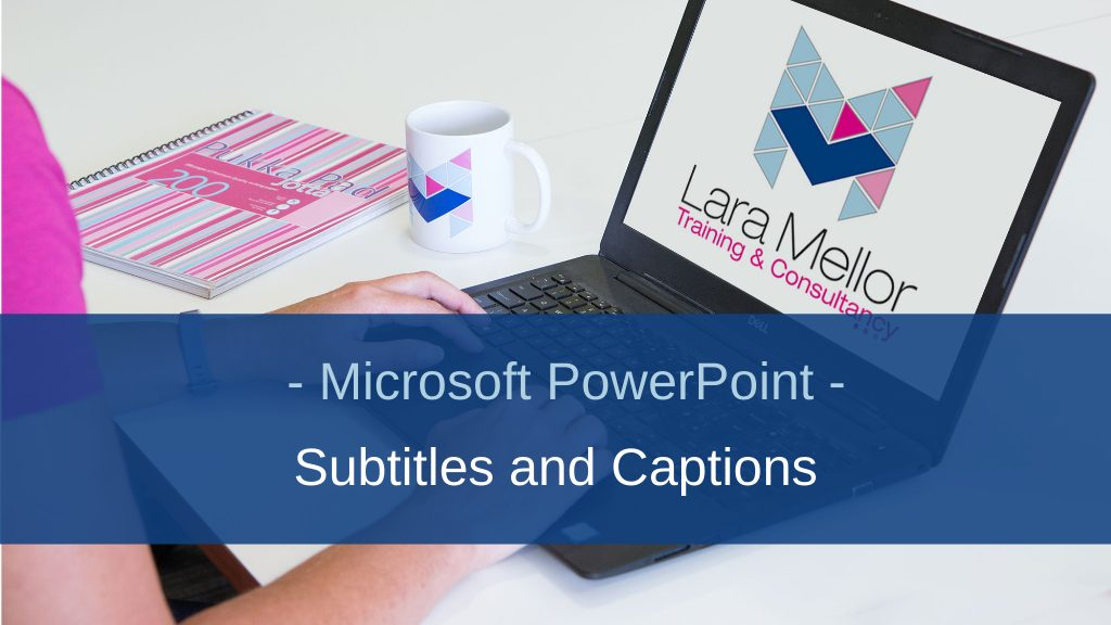 Image of Blog Subtitles Microsoft PowerPoint