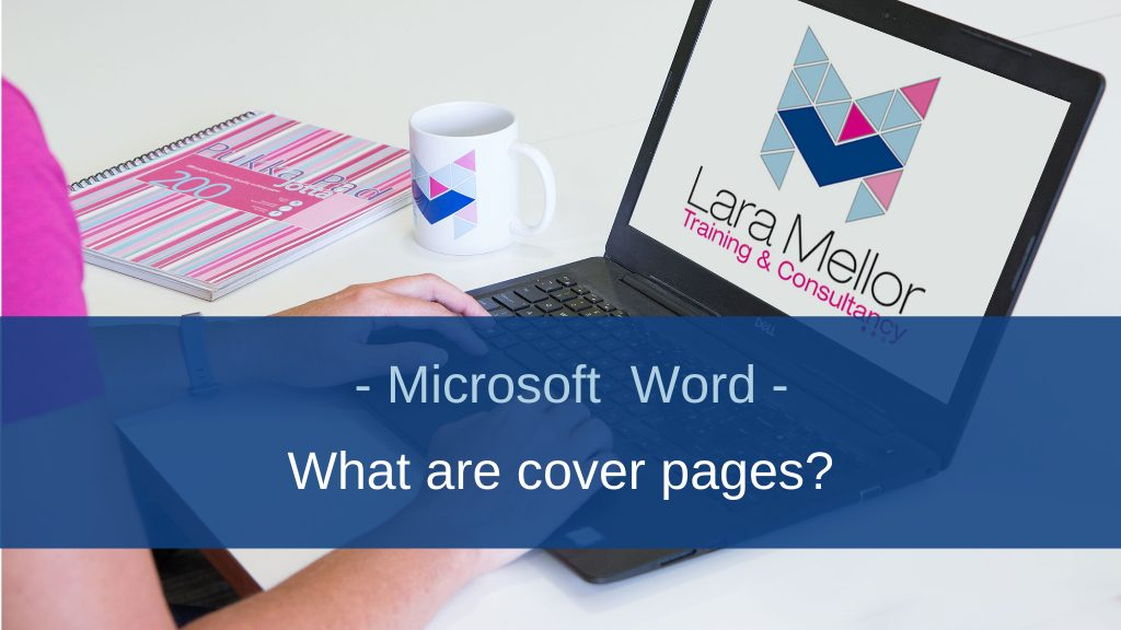 What are cover pages in Microsoft Word?