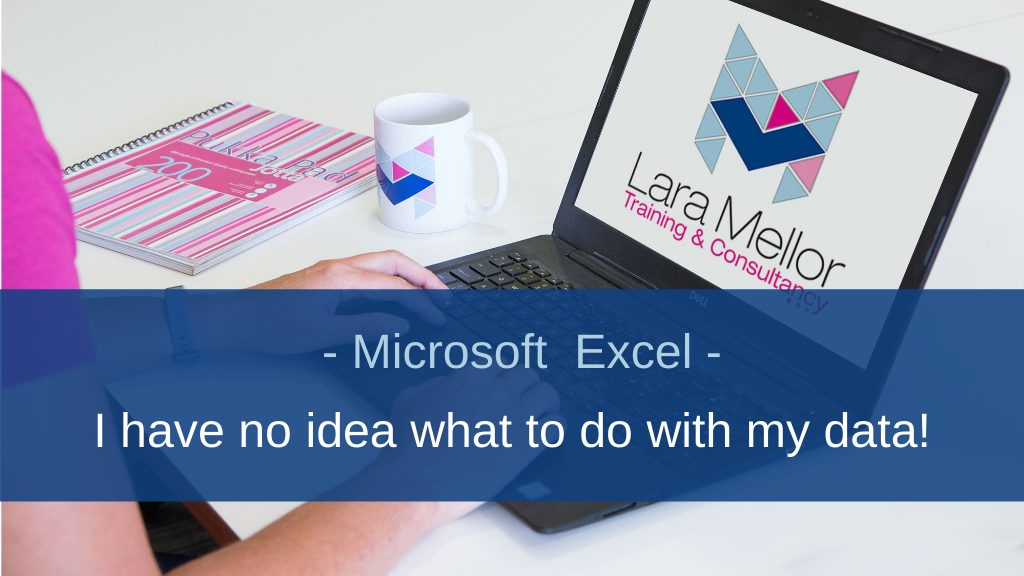 I have no ideas what to do with my Excel data!!