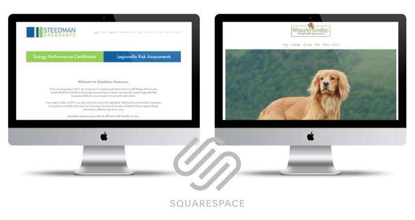 Squarespace example websites