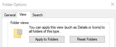 Apply to folders in File Explorer