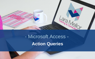 Action queries that change data in your Microsoft Access Tables