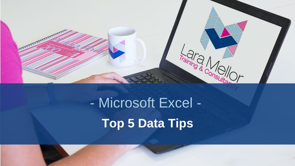 Blog Microsoft Excel Top 5 Data Tips